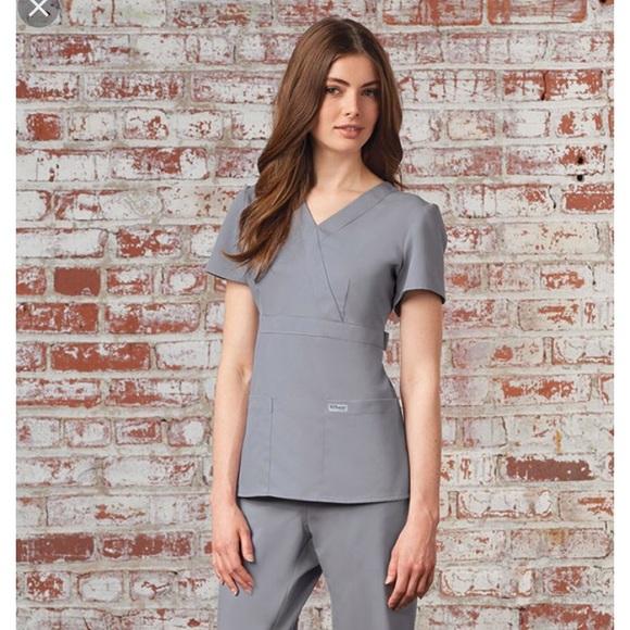 Grey\'s Anatomy Tops | Greys Anatomy 3 Pocket Mock Wrap | Poshmark